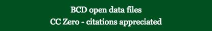 BCD Data CC0